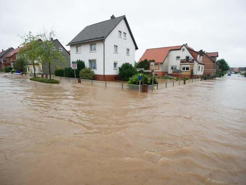Bild zu Hochwasser in Rhüden