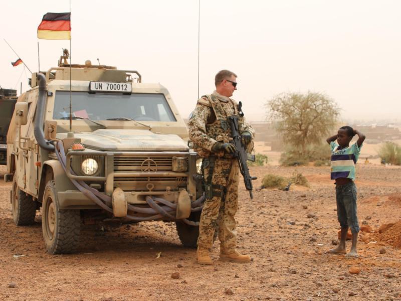 Bild zu Mali-Mission