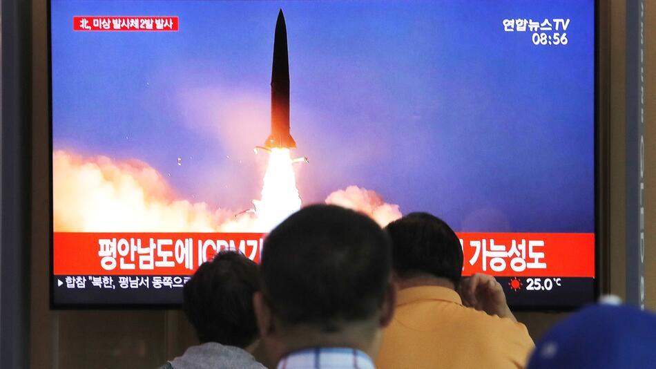 Nordkorea feuert einem Bericht zufolge erneut «Projektile» ab