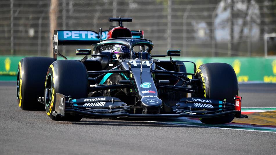 Formel 1: Lewis Hamilton siegte auch in Imola und kann damit in zwei Wochen Weltmeister werden.