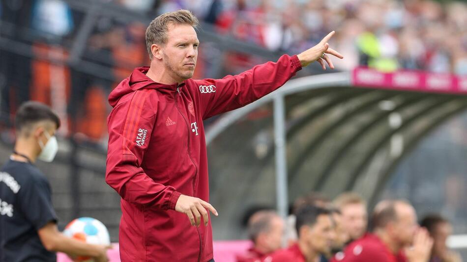 Fußball, FC Bayern München, Julian Nagelsmann