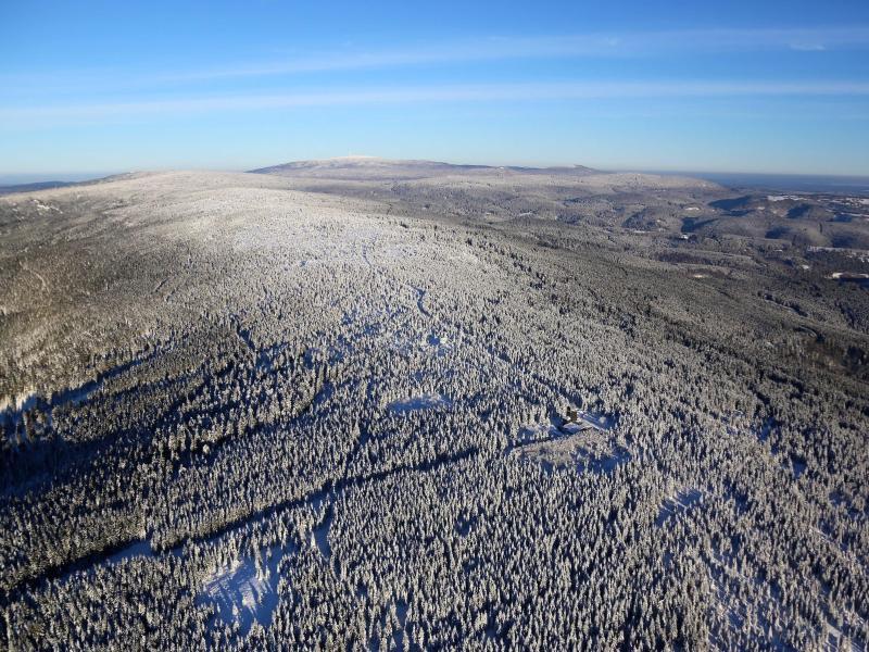 Bild zu Luftbild Harz