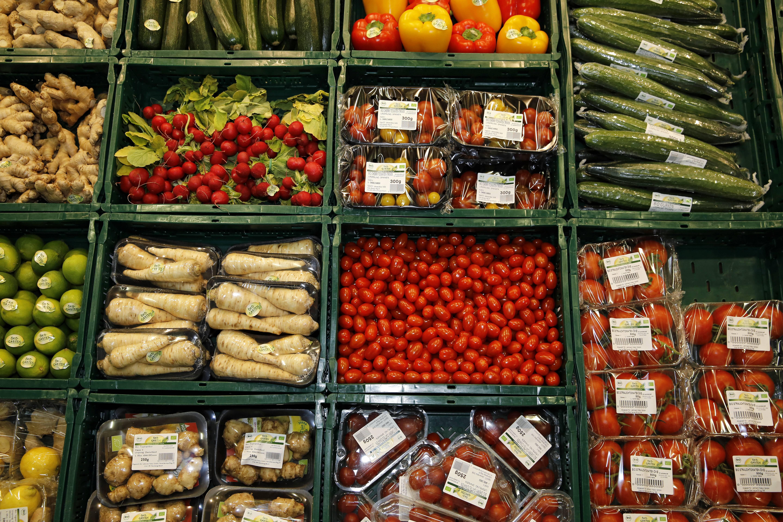 Bild zu Gemüse Obst Rohkost