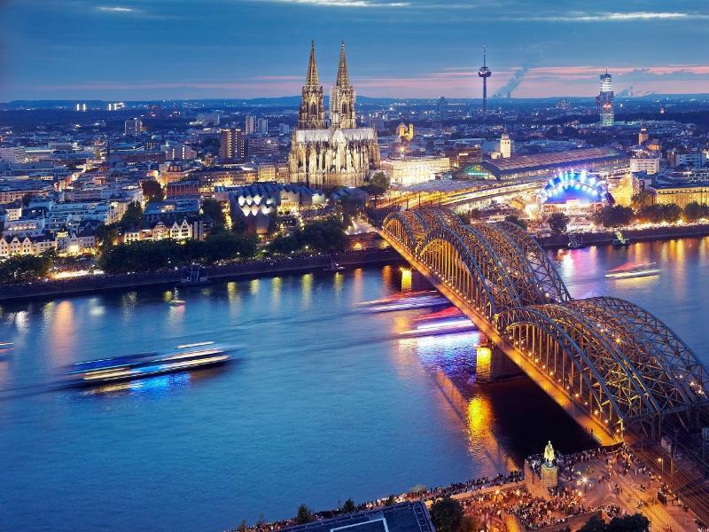 Bild zu Blick auf den Kölner Dom