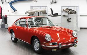 Als der 911 noch 901 hieß: Porsche Museum zeigt erstmals den ältesten Elfer
