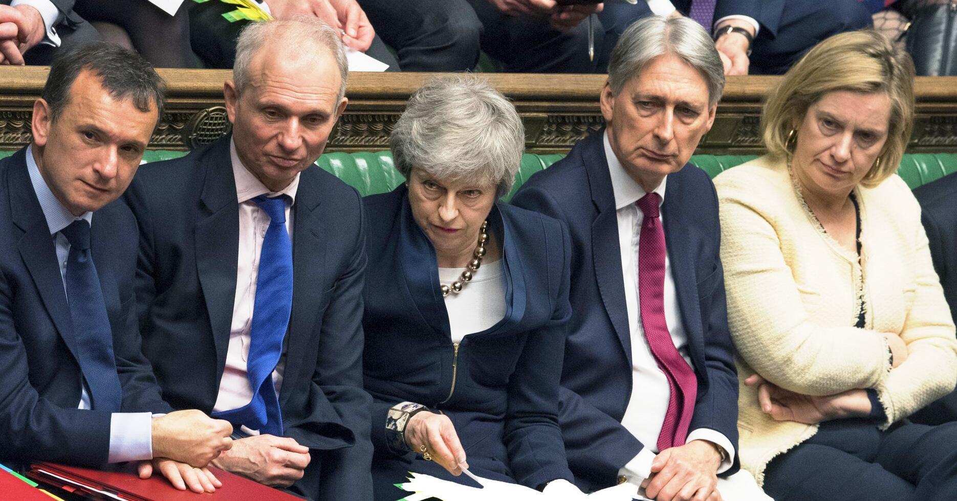 Bild zu Großbritannien Brexit Theresa May