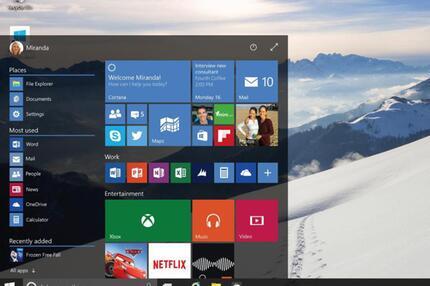 Das neue Windows 10