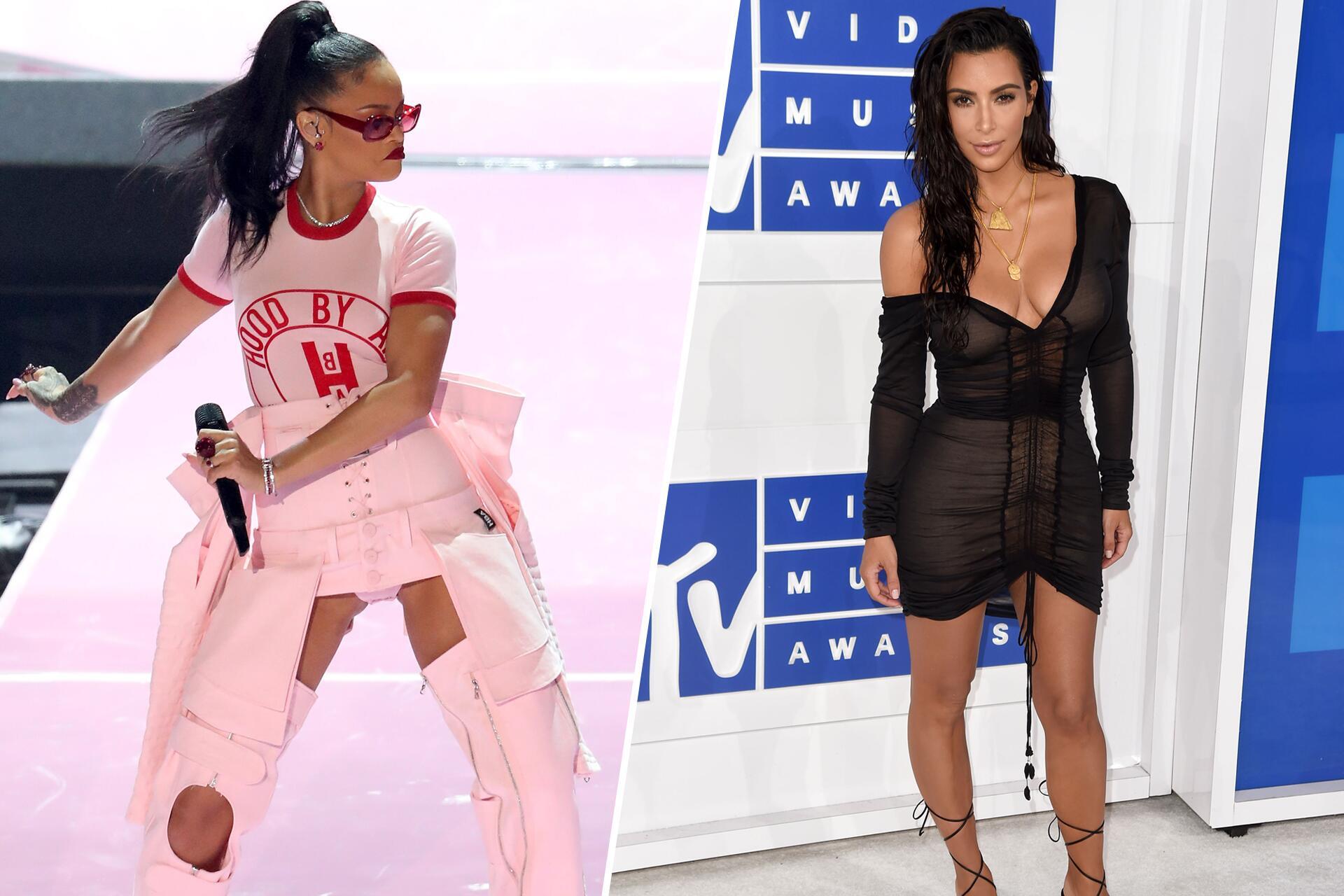 Bild zu Rihanna, Kim Kardashian, MTV Video Music Awards, 2016