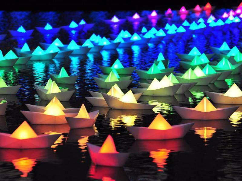 Bild zu Lichterfest inBaltimore