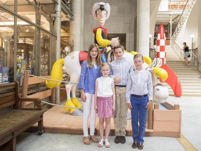 Bild zu Belgische Königsfamilie