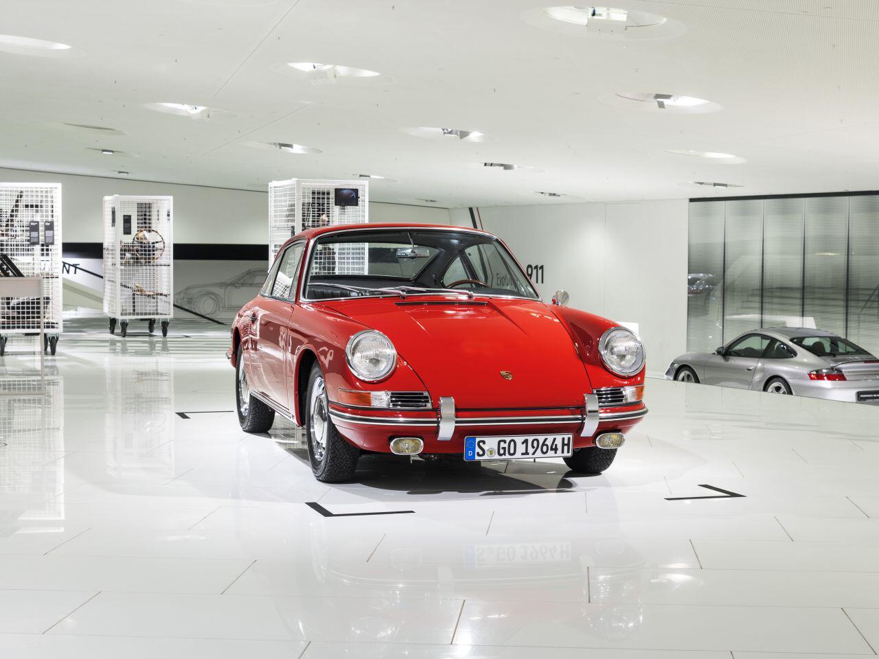 Bild zu Porsche 911 im Museum