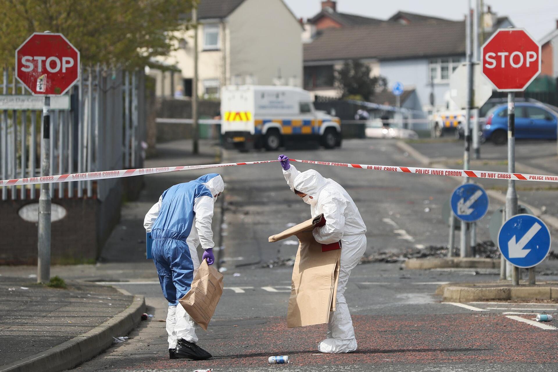 Bild zu Journalistin in Nordirland erschossen