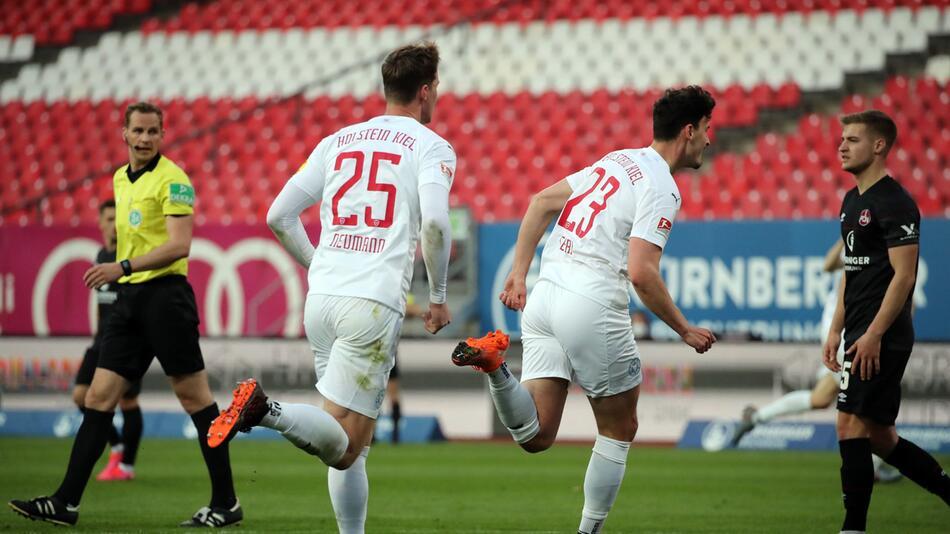 1. FC Nürnberg - Holstein Kiel