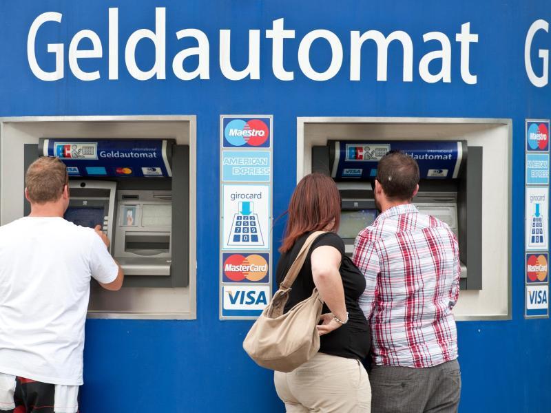 Bild zu Bankautomaten