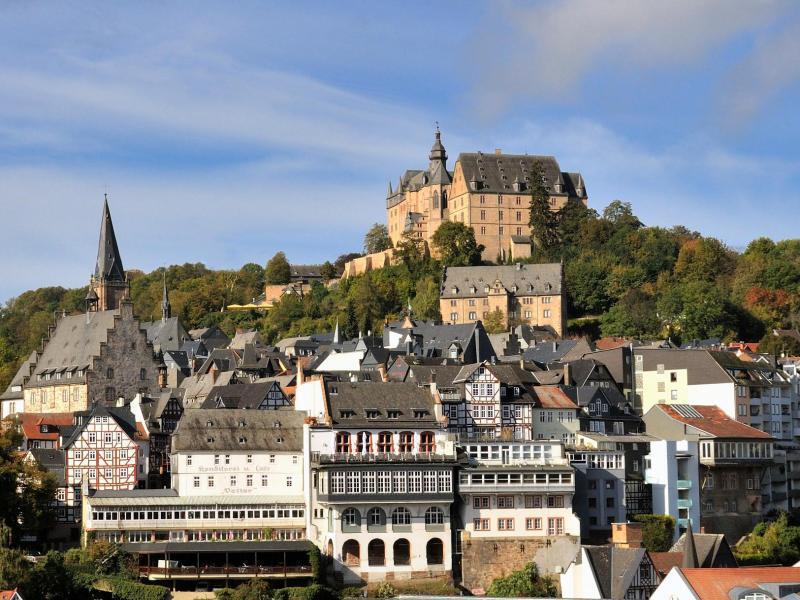 Bild zu Panorama von Marburg