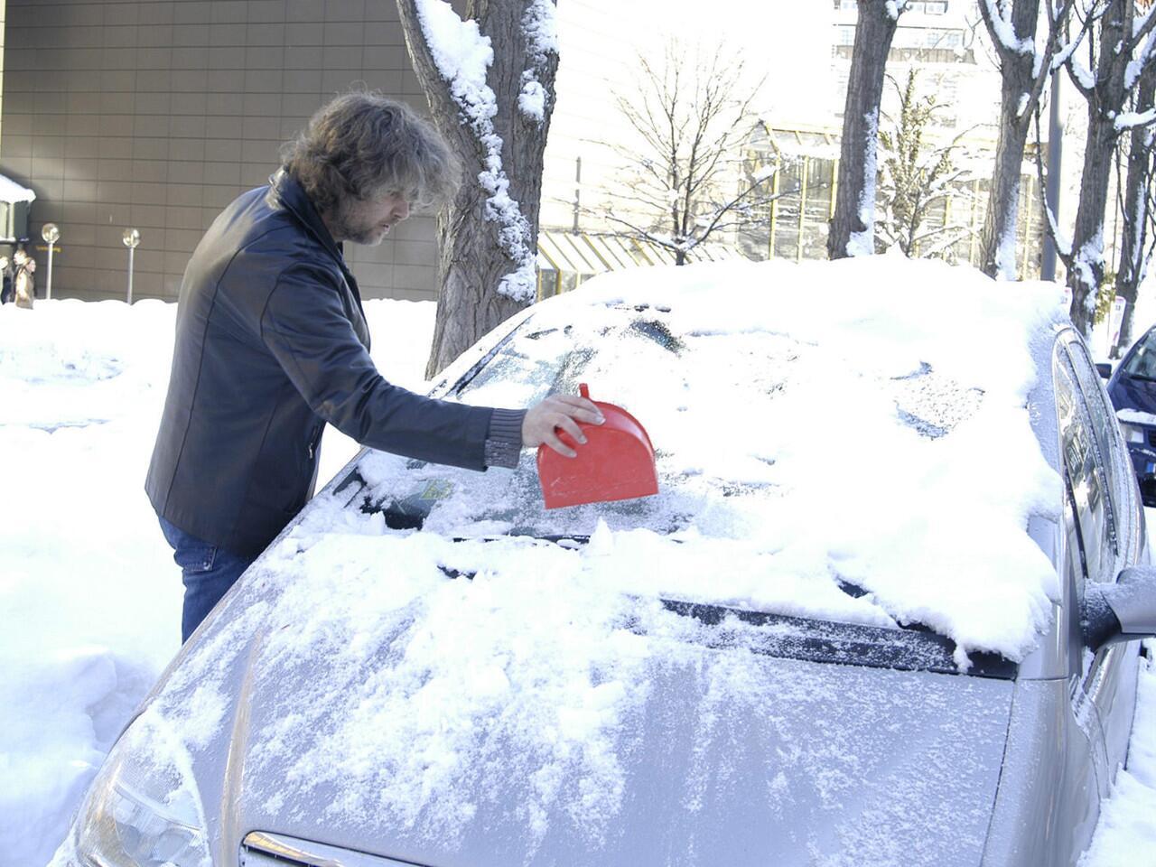 Bild zu Autotür zugefroren? Dagegen kann man schnell etwas tun