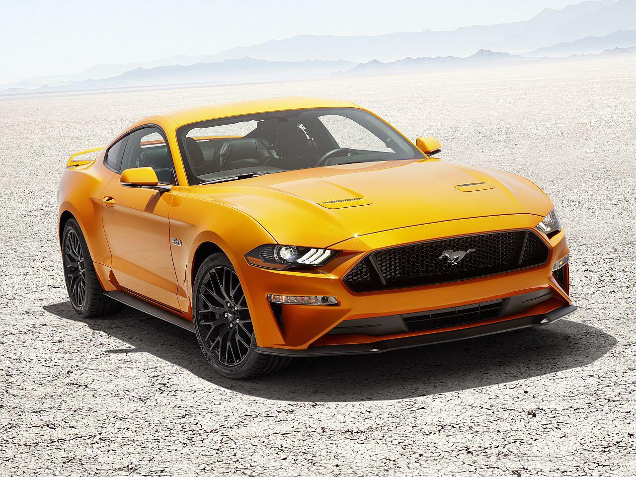 Bild zu Platz 2 Sportwagen: Ford Mustang