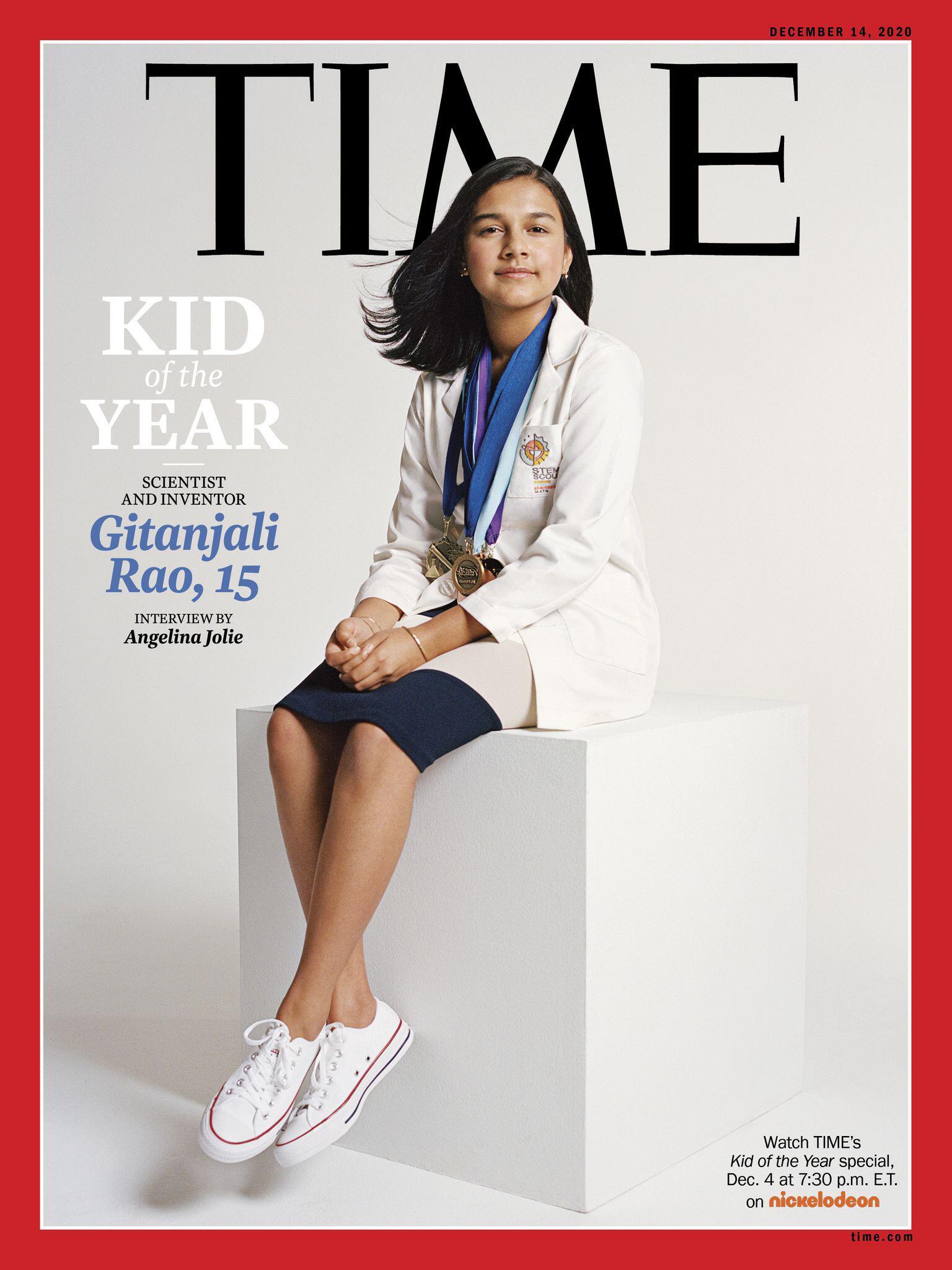 Bild zu «Time» kürt erstmals «Kind des Jahres»: 15-Jährige aus Colorado