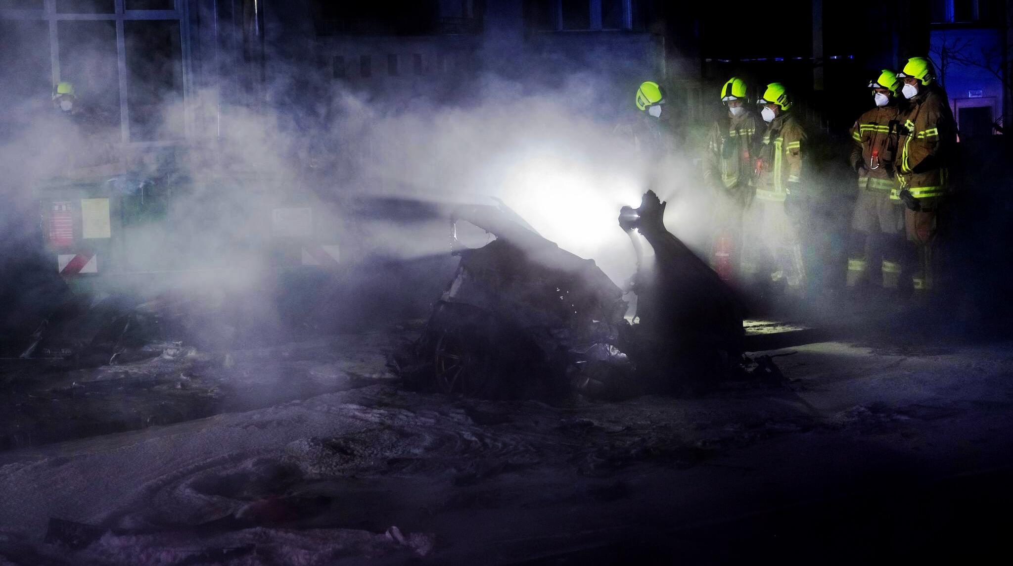 Bild zu Tödlicher Autounfall am Treptower Park