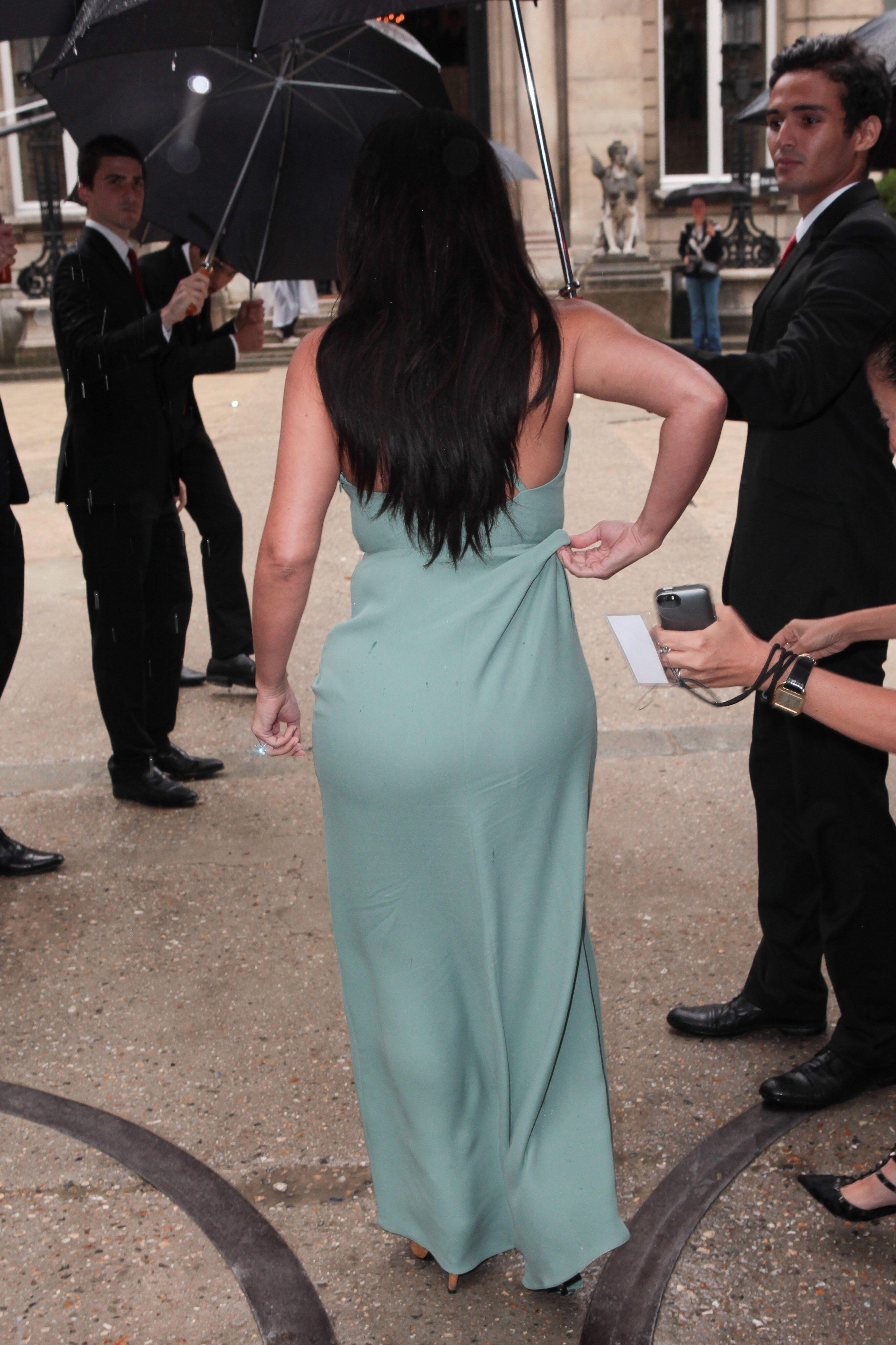 Bild zu Kim Kardashian Hintern