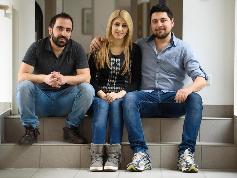 Bild zu Saad Saad, Siba Wardeh, Okba Kerdiea