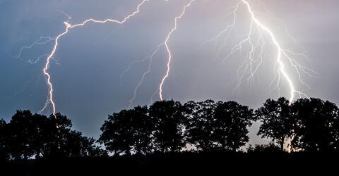 Unwetter, Elvira, Deutschland, Blitz