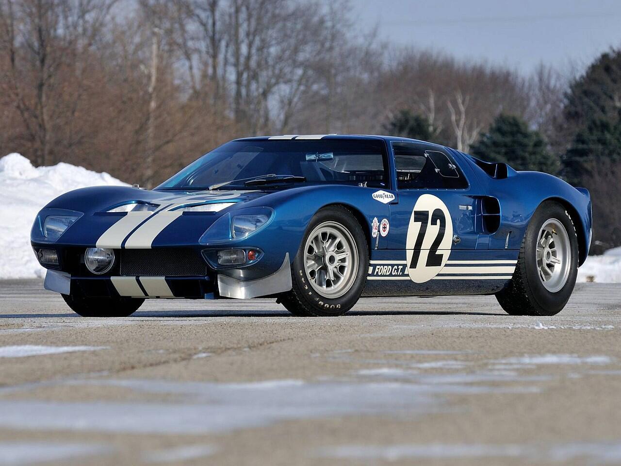 Bild zu Platz 10: Ford GT 40 Prototyp
