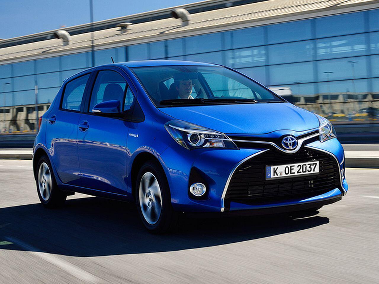 Bild zu Platz 14: Toyota Yaris Hatchback