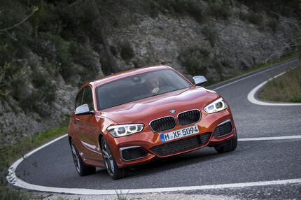 Platz 7: BMW 1er