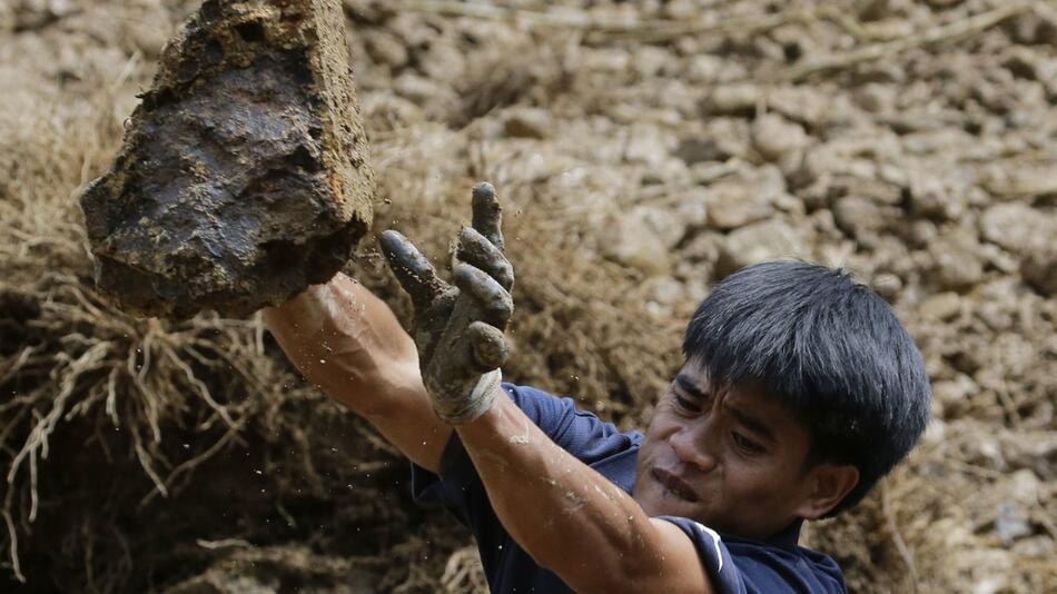"""Taifun """"Mangkhut"""" - Philippinen"""