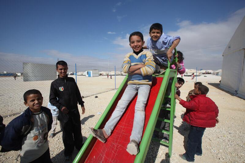 Bild zu Syrische Flüchtlingskinder