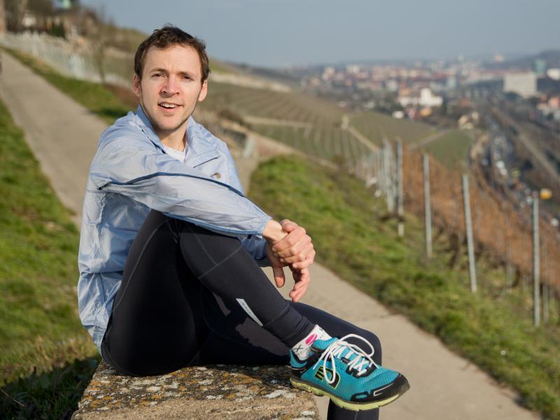 Bild zu Ultraläufer Florian Reus
