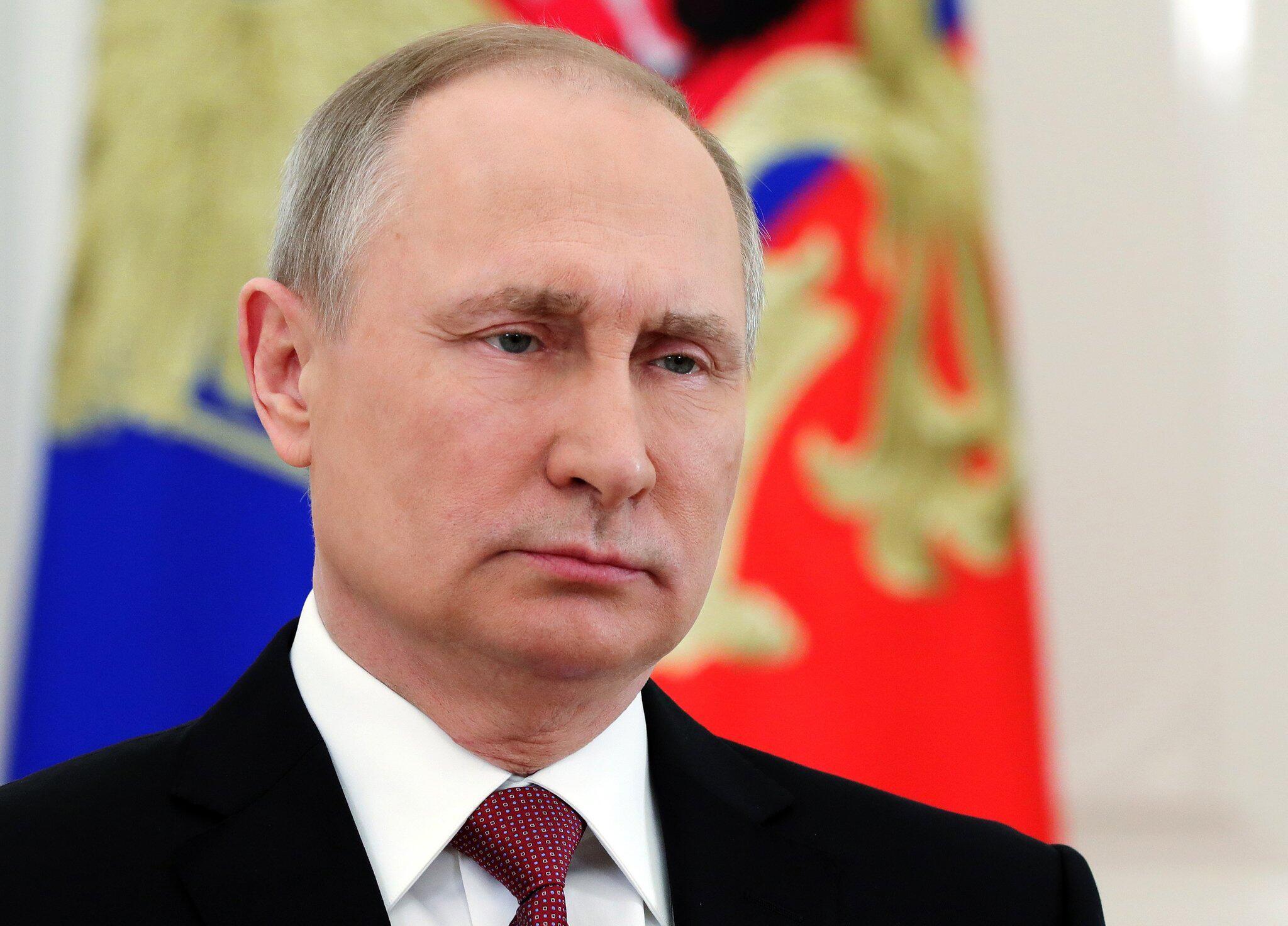 Bild zu Russischer Präsident Putin legt Eid für weitere Amtszeit ab