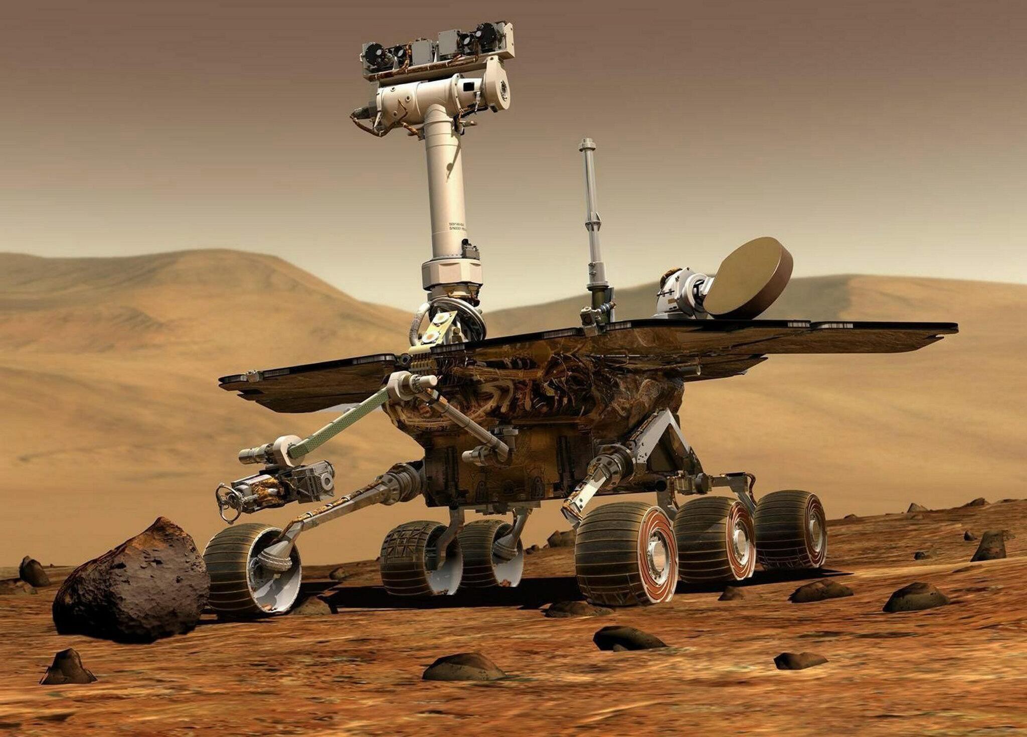 """Bild zu Mars-Rover """"Opportunity"""""""