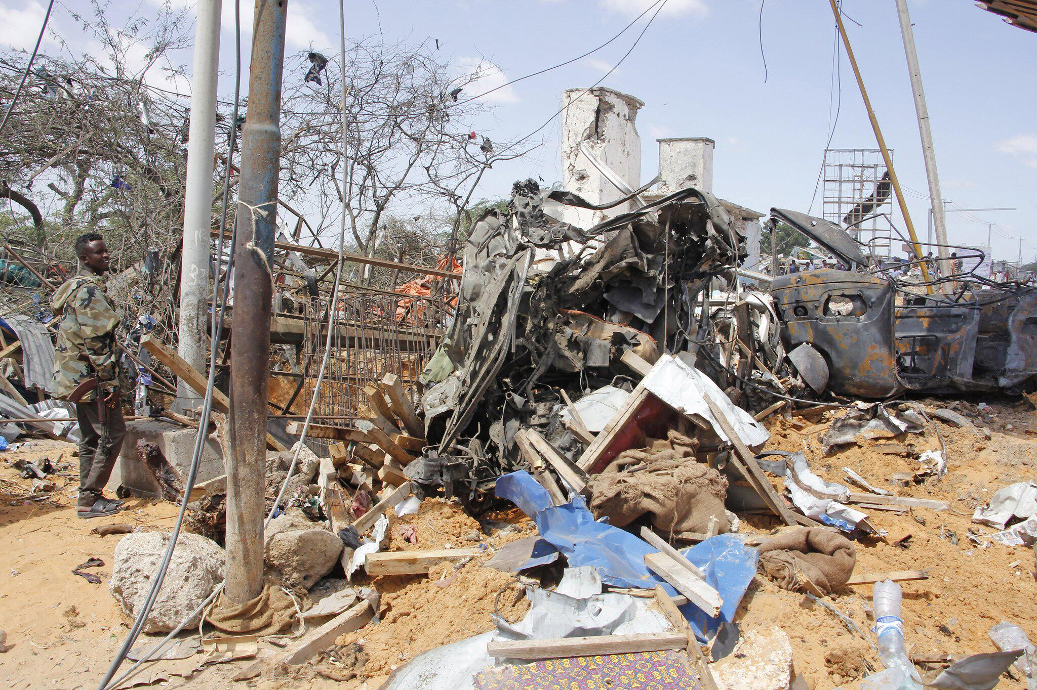Tote nach Anschlag in Mogadischu