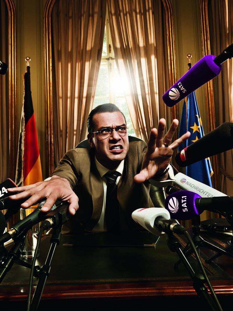 """Bild zu """"Der Minister"""": Satire auf Sat.1"""