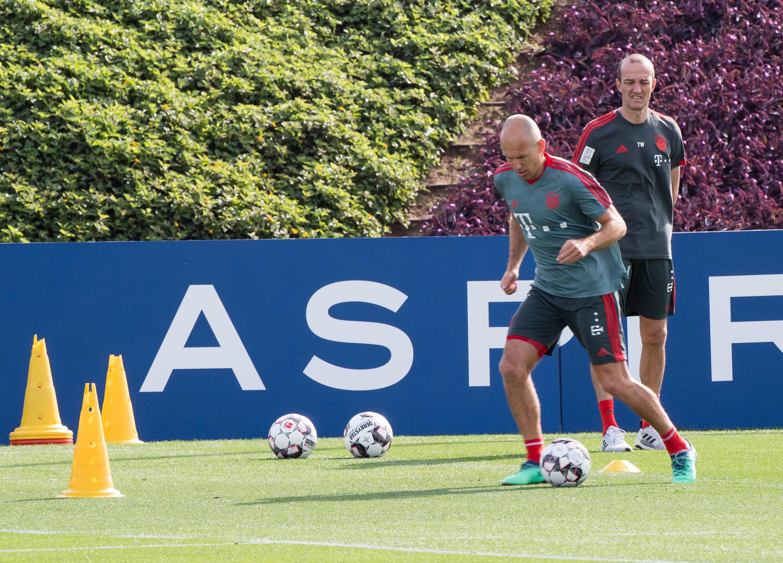 Bild zu FC Bayern München, Trainingslager, Doha, Katar