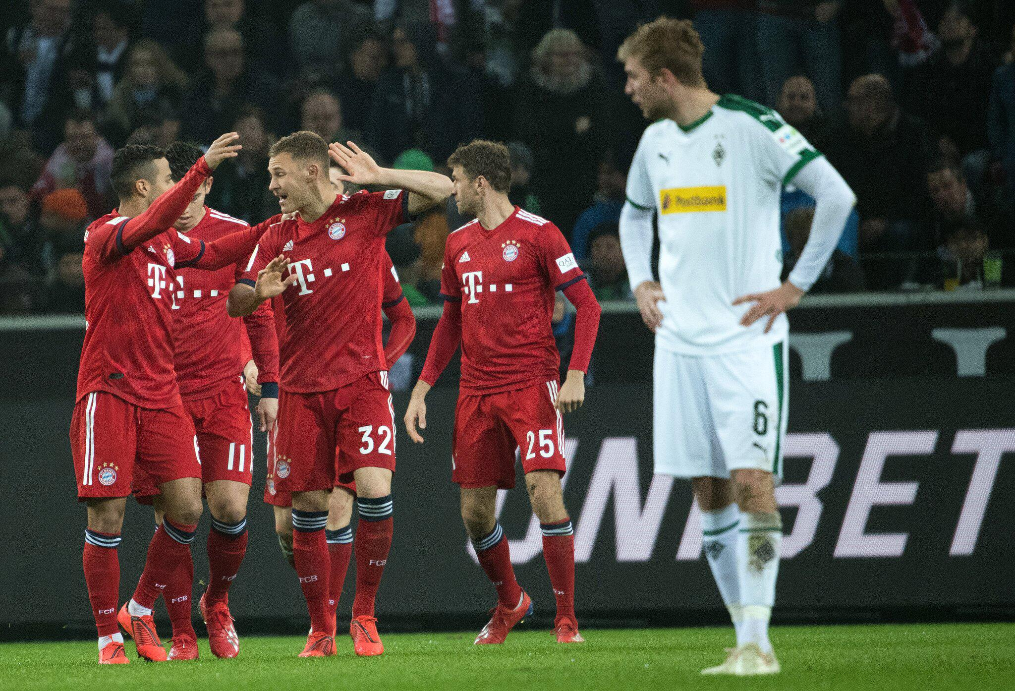 Bild zu Borussia Mönchengladbach - Bayern München