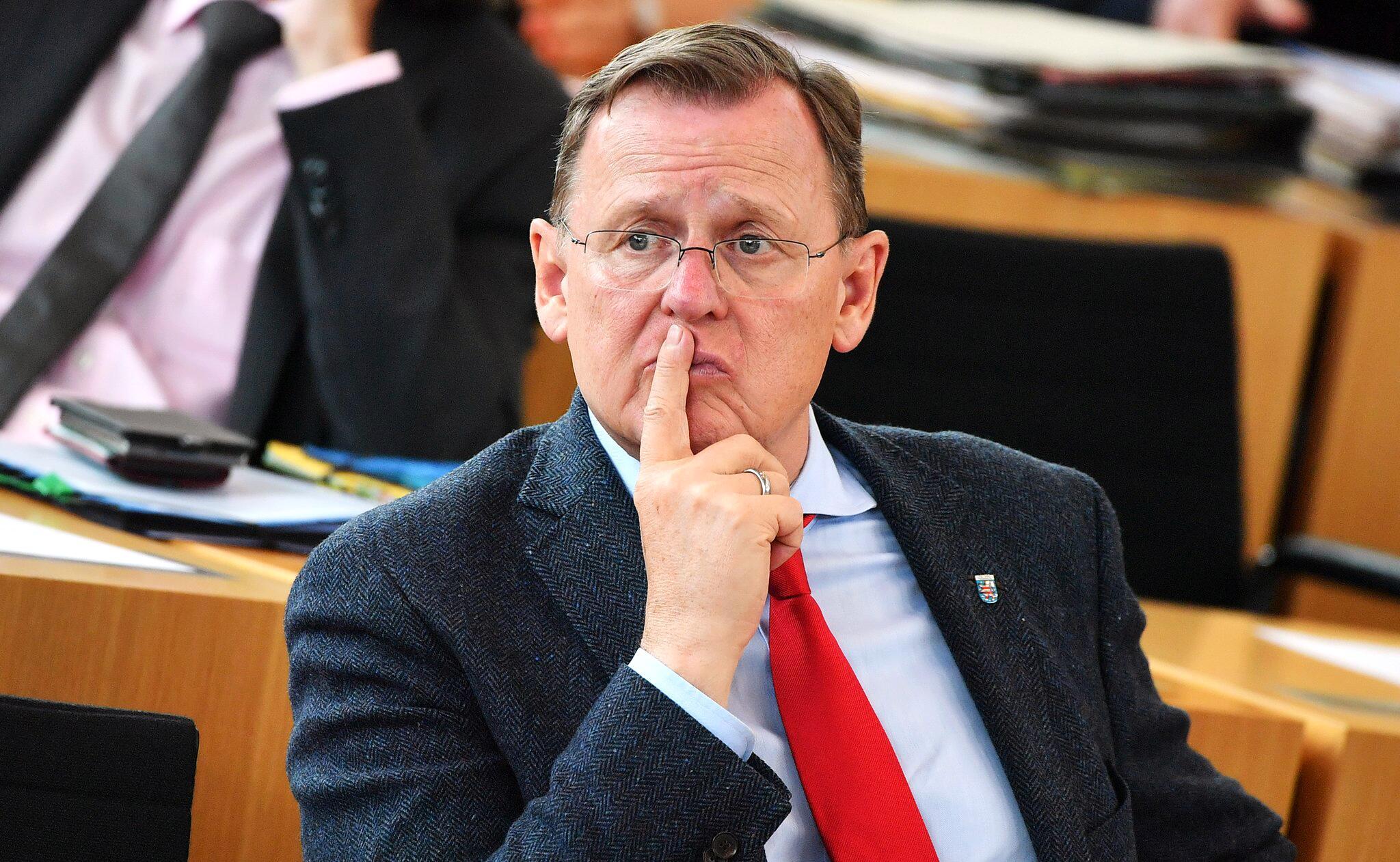 Bild zu Thüringens Ministerpräsident Bodo Ramelow