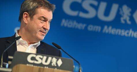 Unions-Machtkampf weiter ungeklärt - Söder
