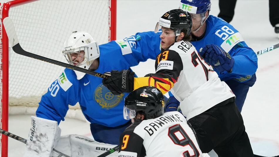 Eishockey-WM: Kasachstan - Deutschland