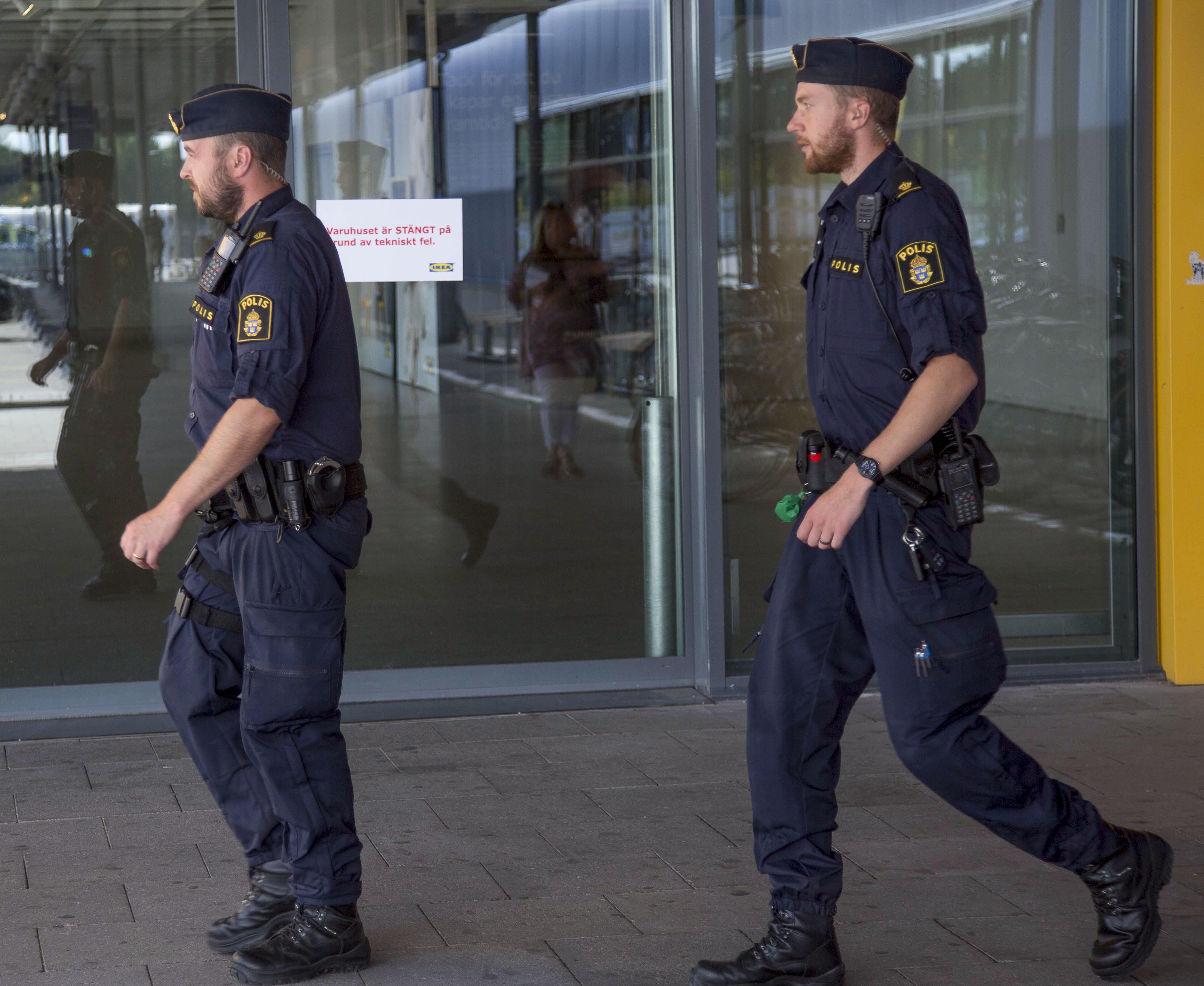 Bild zu Polizei Schweden