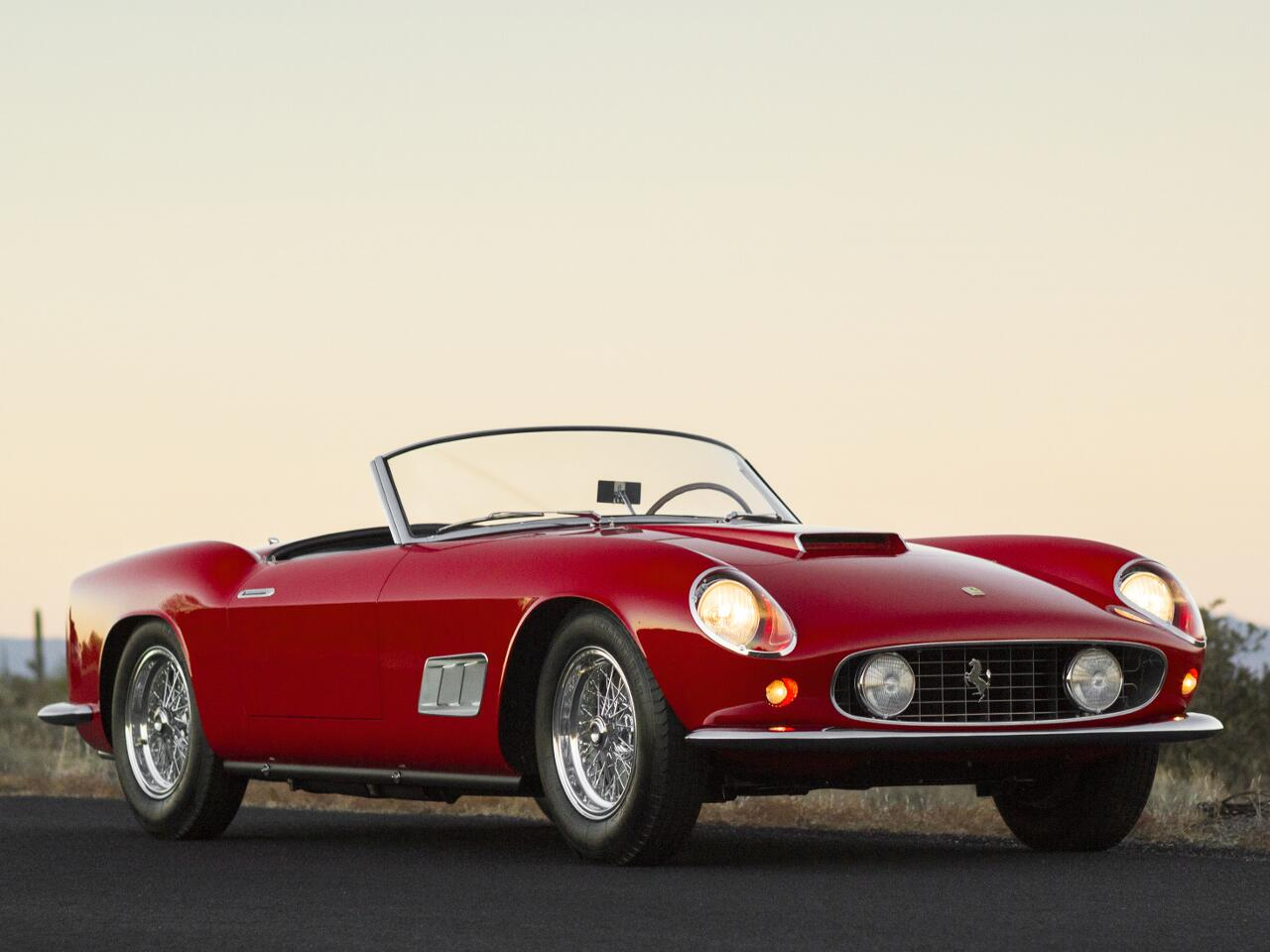 Bild zu Platz 7: Ferrari 250 GT California Spyder LWB