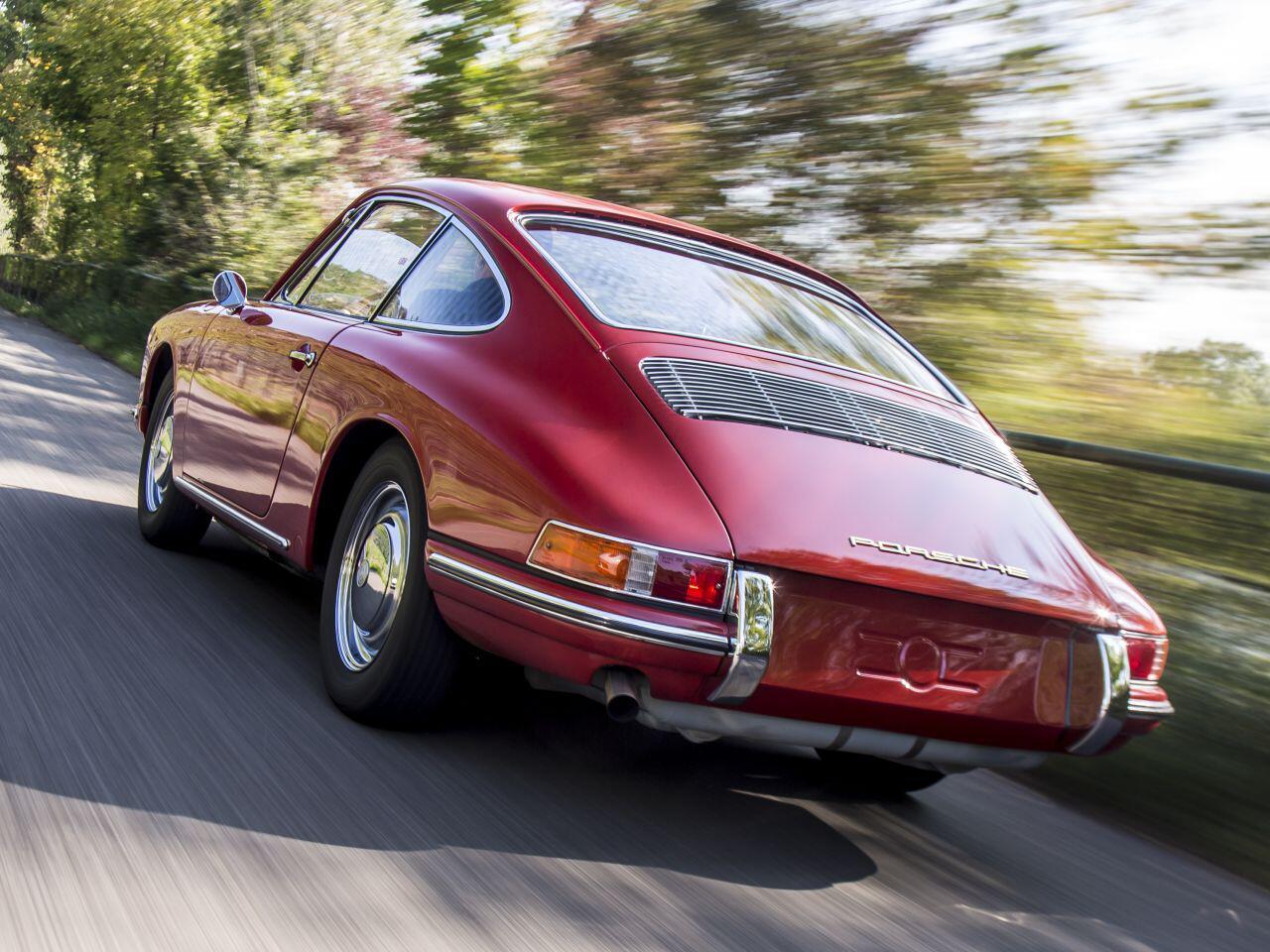 Bild zu Porsche 911/901 mit neuem Motor