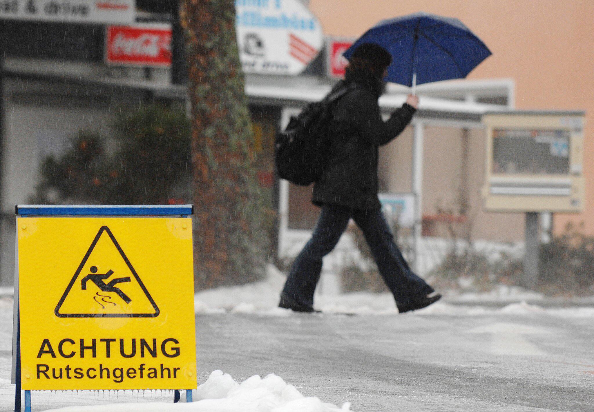 Bild zu Glatteis in Ostbayern