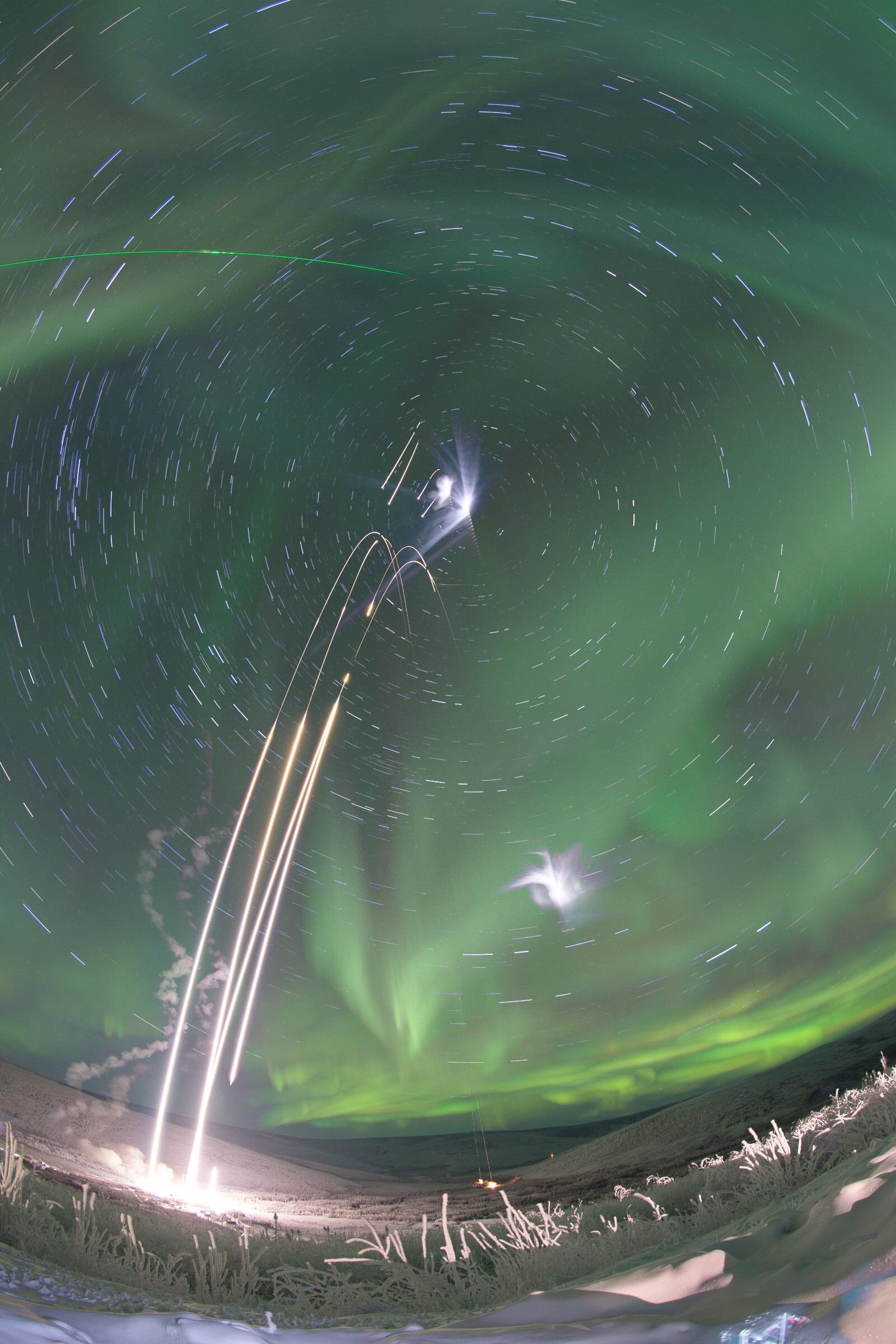 Bild zu Polarlicht