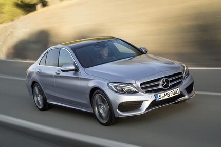 Platz 4: Mercedes-Benz C-Klasse