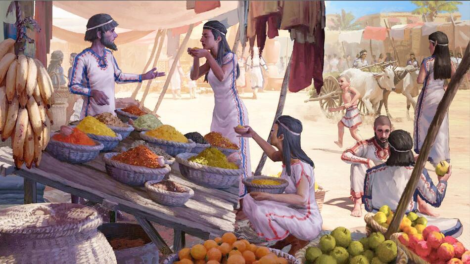 Lebensmittel-Fernhandel in Asien schon vor 3500 Jahren