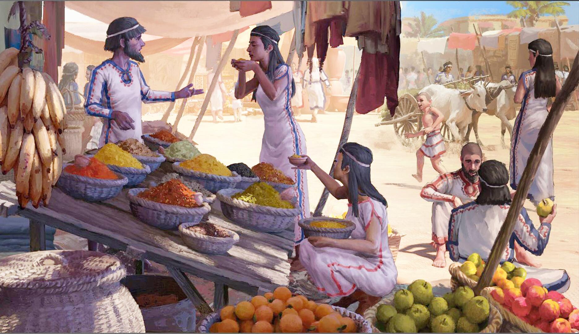 Bild zu Lebensmittel-Fernhandel in Asien schon vor 3500 Jahren