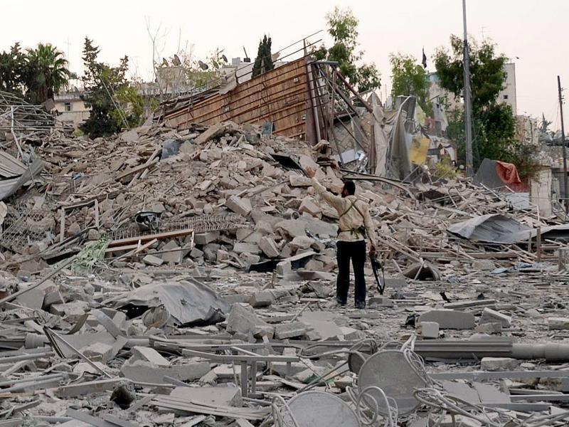 Bild zu Zerstörung in Aleppo